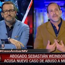 Abogado Sebastián Weinborn acusa casos de abusos a menores similares al de Ámbar en programa de televisión