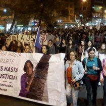 Contra la cultura de la violación: exitosa marcha feminista reunió a estudiantes, activistas y a la familia de Conchy Arregui