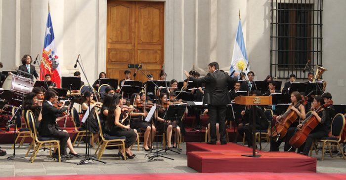 Conciertos gratuitos de la Sinfónica Estudiantil Metropolitana en Ñuñoa y Lo Prado
