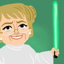 """Bachelet se pone a tono con el día de Star Wars y pide """"seguir luchando contra el lado oscuro de la Fuerza"""""""