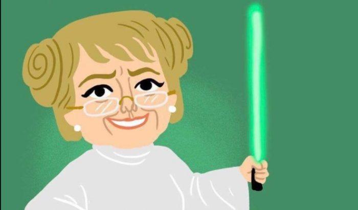 Bachelet se pone a tono con el día de Star Wars y pide