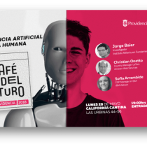 "Café del futuro: ""Inteligencia Artificial a Escala Humana"" en Bar California Cantina"