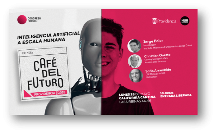 """Café del futuro: """"Inteligencia Artificial a Escala Humana"""" en Bar California Cantina"""