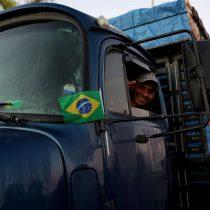 Paro de camiones en Brasil deja al Estado sin fuerza