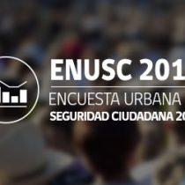 Seguridad pública: análisis y alcances de la Enusc 2017