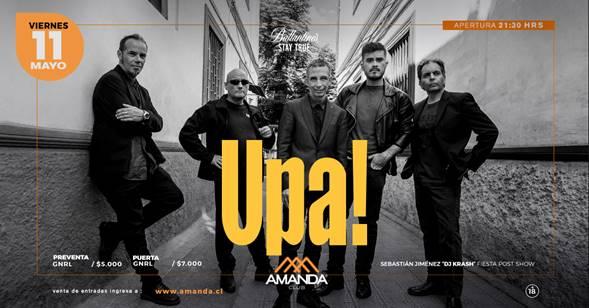 Concierto de Upa! en Club Amanda