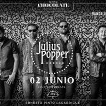 Concierto celebración 15 años de Julius Popper en Club Chocolate