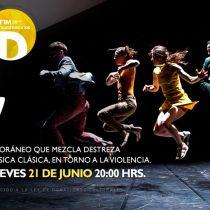 """Montaje danza y música clásica """"Joy"""" en Teatro Regional del Maule"""