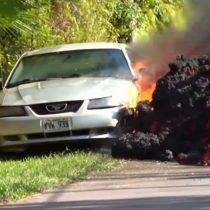 La lava del volcán Kilauea