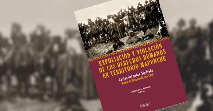"""Lanzamiento libro """"Expoliación y violación de los derechos humanos en Territorio Mapuche"""" en Angol"""