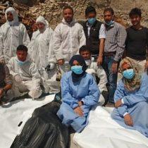 Cómo es recoger cadáveres en Mosul, una de las ciudades más plagadas de explosivos del mundo