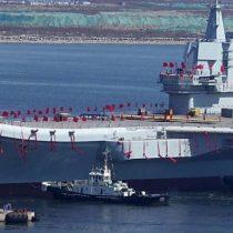 Cómo es el primer portaaviones construido por China