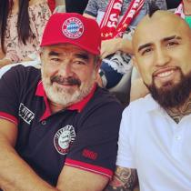 La obsesión de Vidal por el club de barrio Rodelindo Román que llevó a Luksic a Alemania