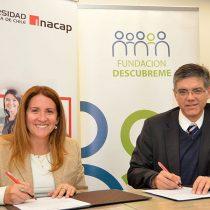 Fundación Descúbreme y Universidad INACAP impulsan iniciativa para promover la educación inclusiva en la modalidad técnico – profesional