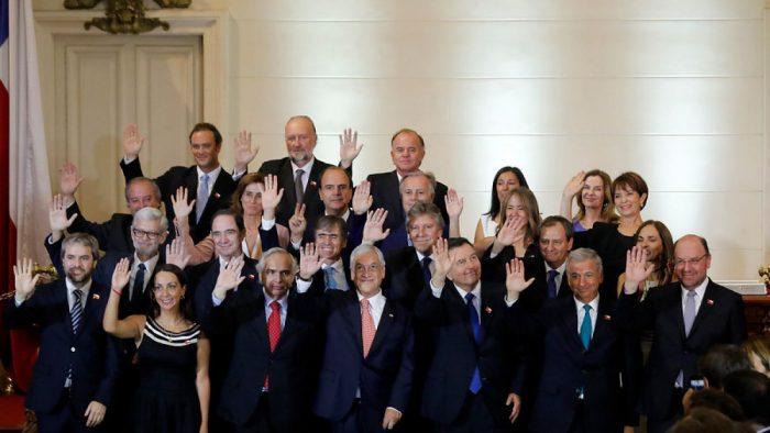 Adivina quién: 46,5% de los chilenos no conoce a los ministros de Piñera