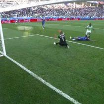 El tremendo gol de Nigeria a minutos del segundo tiempo