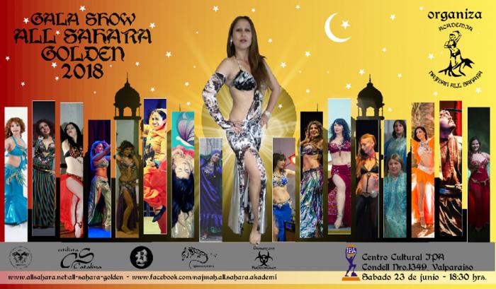 Gala de Danza Arabe en Centro Cultural IPA, Valparaíso