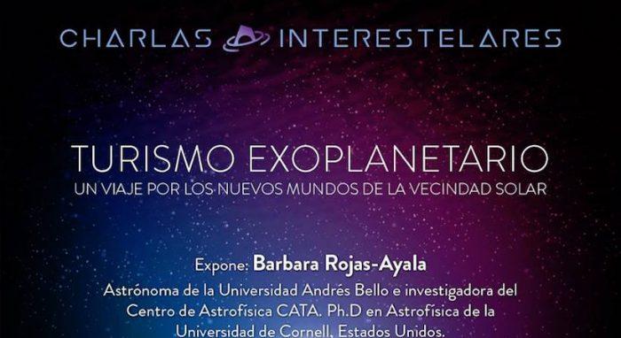 Charla sobre Turismo Exoplanetario con astrónoma Bárbara Rojas-Ayala en Planetario