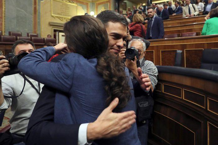 PPD valoró designación de Pedro Sánchez como nuevo presidente de España