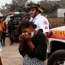 Aumentan a 33 los muertos en Guatemala por el volcán de Fuego