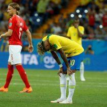 Brasil se atasca y solo empata ante una ordenada Suiza