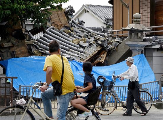 Un potente terremoto de 6,1 grados causa 3 muertos y 300 heridos en Japón