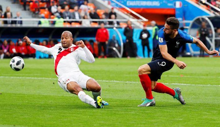 Mundial Rusia 2018: 1-0 de Francia estaría dejando afuera a Perú