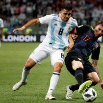 Rusia 2018: Argentina y Croacia se van al descanso con un ajustado 0-0