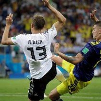 Pende de un hilo: El gol de Suecia que deja a Alemania casi eliminada del Mundial