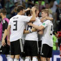 Con uno menos, Alemania se queda con el triunfo en los descuentos ante Suecia y sigue con vida en el Mundial