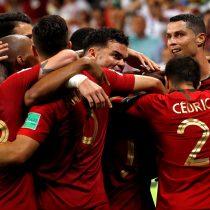 Primer tiempo: España empata con Marruecos y Quaresma da ventaja a Portugal