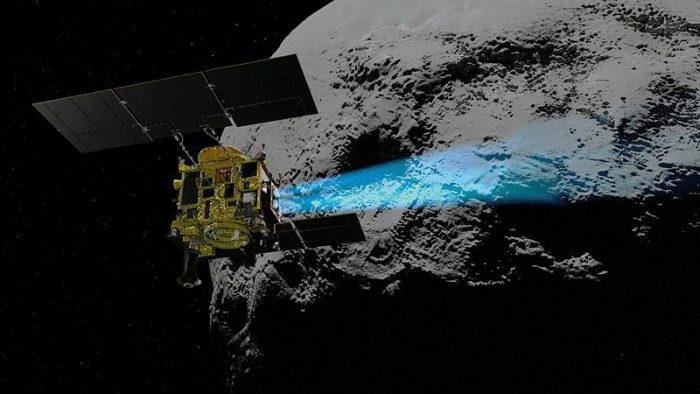 Sonda japonesa alcanza un asteroide para tomar muestras y traerlas a la Tierra