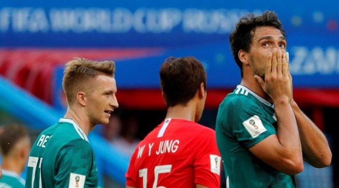 La maldición del campeón: Alemania fuera del mundial y México clasificaa octavos de final