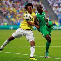 Primer tiempo: Colombia y Senegal se van al descanso sin goles