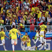 Rusia 2018: Colombia logra clasificar a octavos con la cuenta mínima en partido contra Senegal