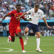 Primer tiempo: Inglaterra y Bélgica no se hacen daño en definición del grupo G