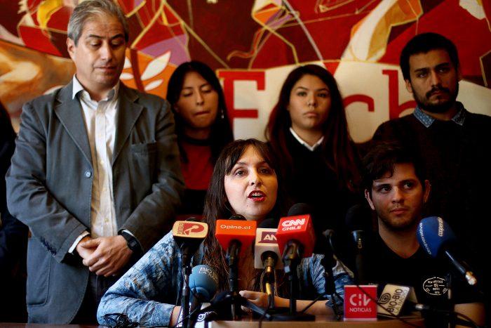 Tensión en la Fech: Juventudes Comunistas llaman a
