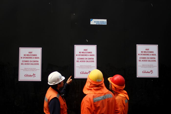Cursan nueva multa por acoso callejero en Las Condes