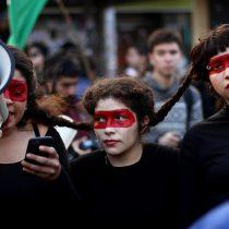 Tibia concurrencia a marcha feminista con motivo de la Cuenta Pública Presidencial
