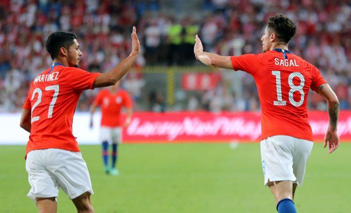 Chile se despide de su gira europea con un empate ante la mundialista Polonia
