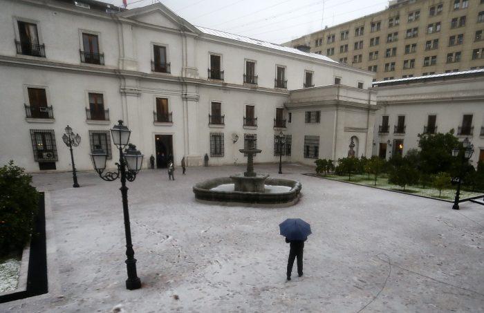 Temperaturas bajo cero se registrarán este martes en gran parte del país