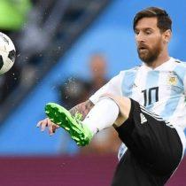 El gol de Messi con el que Argentina anotó el 1 a 0 frente a Nigeria