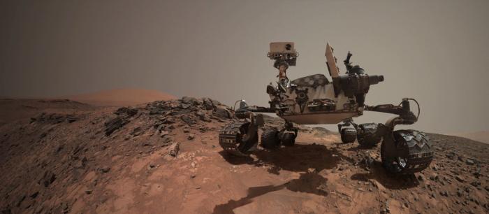 Robot Curiosity halla moléculas orgánicas de 3.000 millones de años en rocas de Marte