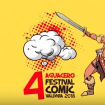 Festival de Cómics Aguacero en Carpa de la Ciencia del CECs, Valdivia