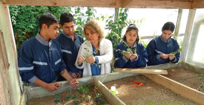 """La profesora que ha cambiado la vida de los jóvenes de Quirihue: """"Me enseñó que no hay diferencias entre hombres y mujeres"""""""