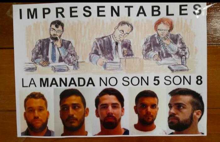 """""""Si La Manada sale ocupamos las calles"""": convocan manifestaciones en toda España tras libertad provisional"""