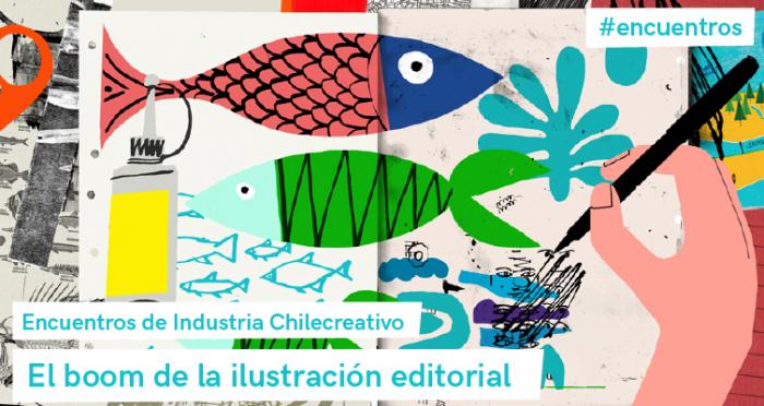 Encuentro de Chilecreativo: El boom de la ilustración editorial en Chile y el mundo en Auditorio Corfo