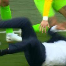 Tite se cae hoy: la eufórica celebración del técnico de Brasil tras agónico triunfo que le provocó una lesión
