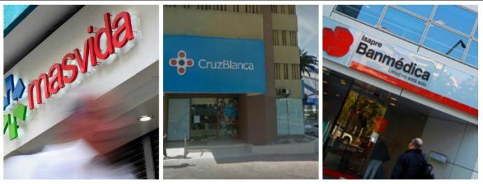 Isapres tendrán que meterse las manos al bolsillo : multan a Banmédica, Cruz Blanca y Masvida por integración vertical