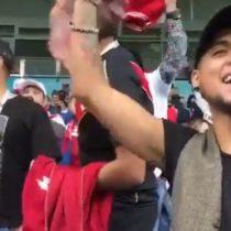 Hinchas peruanos se burlan por la ausencia de Chile en el Mundial
